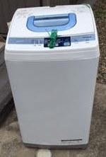 洗濯機回収処分