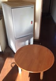 冷蔵庫 ちゃぶ台
