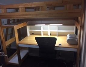 木製システムベッド解体処分