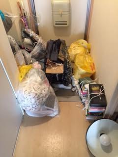 本類、衣類他生活ゴミ回収処分